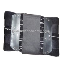 high strength back waist brace support with hook and loop