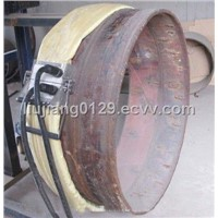 induction preheating equipment for pipe