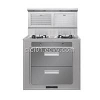integrated gas cooker JZ1209