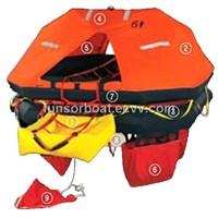 liferaft for international vessel- D type