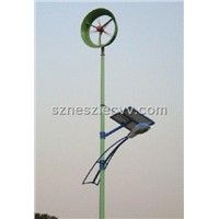 sne solar and wind hybrid street lamp
