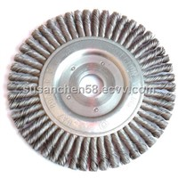 twist knot bevel wire wheel cleaning brushes