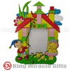 Soft PVC Cartoon Photo Frame for Kids