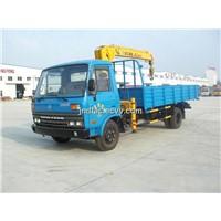 Truck Mounted Telescopic Boom Crane 3.2 Ton