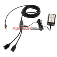 17ft.Dual Port USB 2.0 USB Extension Cable USB Active Amplified Extension Cable