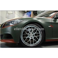 1.52M Width Matte Car Body Vinyl Wrap With Air Free Bubbles