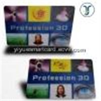 2D/3D lenticular graphic card