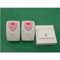 AD-618 Cheap wireless doorbell with 2 receiver