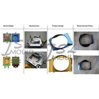Auto Radiator Fan Shroud Mould.Car fan housing mold