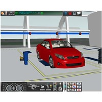 Auto Trouble Diagnosis Virtual Training Room for Toyota Corolla