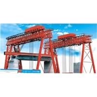 Beam fabricating gantry crane
