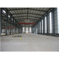 China prefab steel warehouse