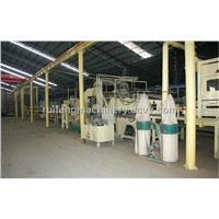Complete particleboard production line