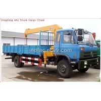 Derrick(Dongfeng 4*2 Truck Cargo Crane)