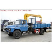 Derrick (Dongfeng Gasoline Truck Crane with Loading Crane)