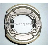 Export Good performance AX100 motorcycle brake shoes