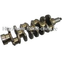 Forklift Spare Parts Crankshaft for Nissan TD27