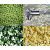 Frozen green peas / IQF mixed vegetable