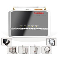 GPRS Security Alarm System-CJ-818M8A GPRS Security Home Alarm System with MMS & Photo-taking