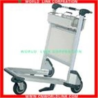 High strength aluminum airport hand cart