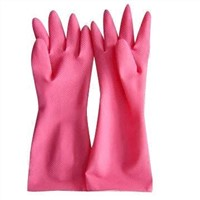 Household Gloves, Made of Nature Latex, Available in S, M, L and XL Sizes