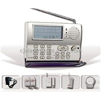 Intruder Home Alarm System-CJ-818Z LCD Display & Home Appliance Controlling Intruder Alarm System