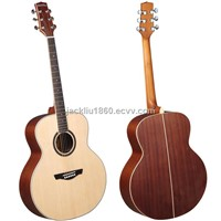 Jumbo Acoustic Guitar with Solid Spruce Top (J-33M)