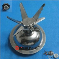 Kalorik  stainless steel blender blade assembly with sealing ring