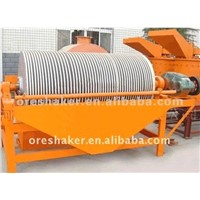 Magnetic separator for iron ore