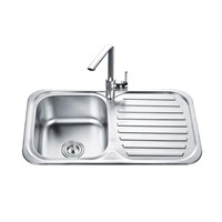 Multifunctional stainless steel kitchen sink, Top mount sink