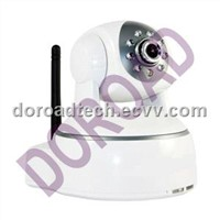 Network Camera, PTZ Wireless Camera with IR-Cut