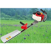 New style single blade petrol hedge trimmer