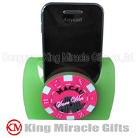 OEM Soft PVC Plastic Mobile Phone Stand
