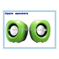 Portable speakers,apple design for computer
