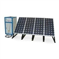 Solar Power System with 110/220V Output Voltage and 500W Peak Power, Suitable for Home Use