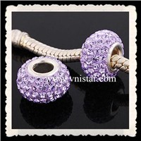 Swarovski crystal beads PSS843-5 with sterling silver single core