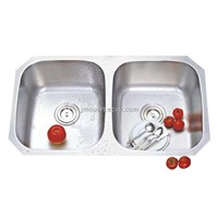 Undermount kitchen sink, cUPC stainless steel sink 32