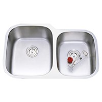 Undermount kitchen sink pass UPC certificate Stainless steel sink