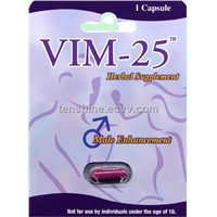 VIM-25 Natural Male Performance Enhancer
