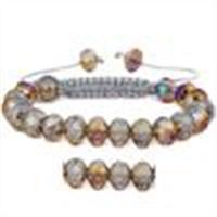 Wholesale Lampwork Glass Beads Macrame Bracelets
