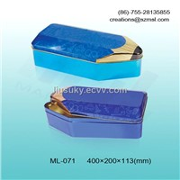 pencil shape stationery tin box,pencil box,pencil case