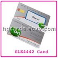 plastic chip card
