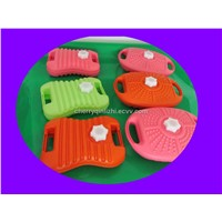 plastic hot water bottles---blow molded