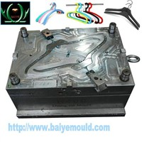 plastic injection mould for clothes rack hanger coat hanger mould