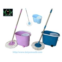 plastic injection mould for household clean a variety of new mop super mop spin mop magic mop