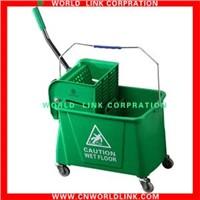 plastic single bucket mop wringer