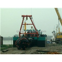 sand cutter suction dredger