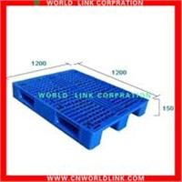 single deck stacking euro plastic pallets
