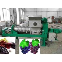 Stainless Steel Grape Juicer Machine Prices /Fruit Juice Extruding Machinery Plant