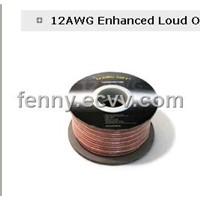 transparent speaker cable clear pvc